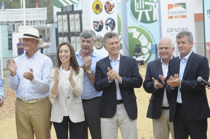 Macri inauguró la muestra Expoagro