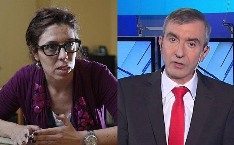 Alonso intentó explicar su cambio de opinión y Castro la criticó con dureza.