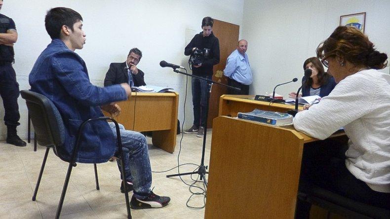 Mario Chini durante la audiencia judicial de ayer.