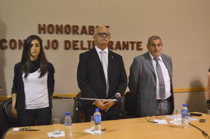 El intendente de Sarmiento