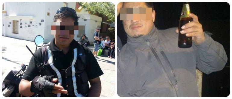 Los dos inspectores, antes de secuestrar a un hombre, le habían robado a otro $8 mil