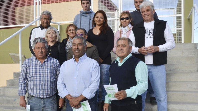 La Lista Verde Vecinos Unidos del barrio José Fuchs participará en las elecciones vecinales.