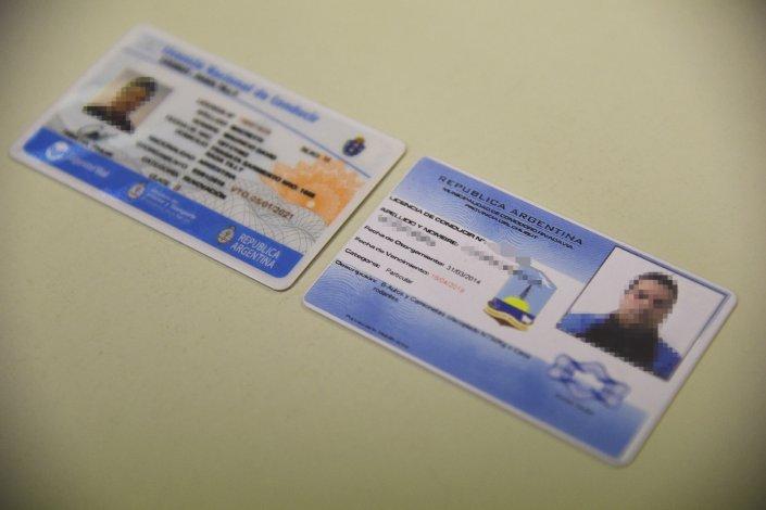 La falsificación es de la antigua licencia municipal