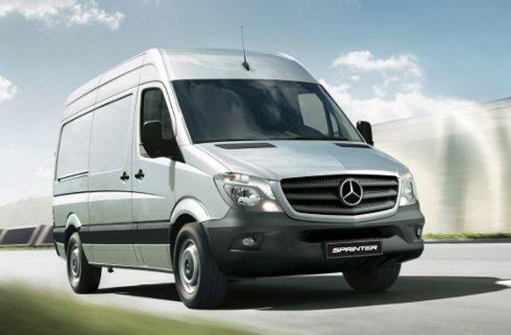 Mercedes-Benz Sprinter, con cambios variados