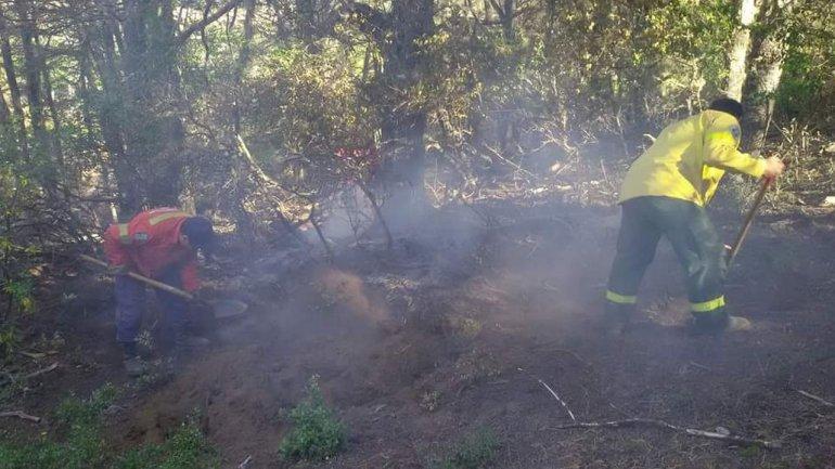 Incendio en Río Pico: la situación mejoró muchísimo