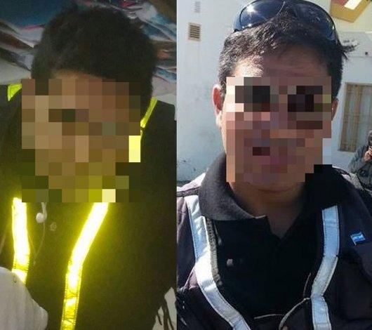 Dos meses de prisión preventiva para los inspec-chorros
