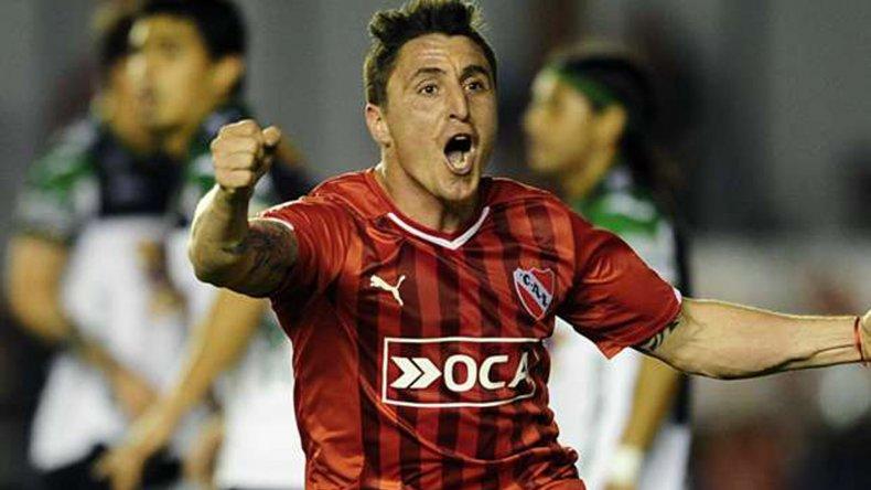 Cristian Rodríguez volverá esta tarde a la titularidad en Independiente.