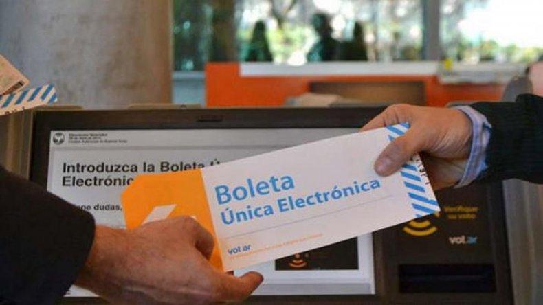 La implementación de la Boleta electrónica es uno de los objetivos del oficialismo.