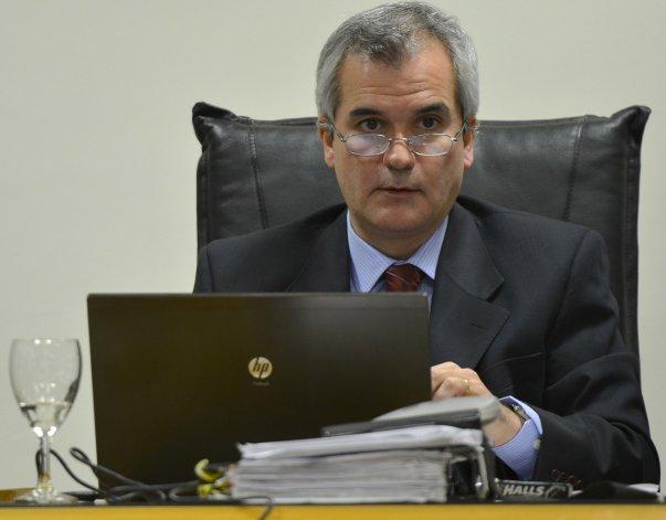 El juez penal de Sarmiento