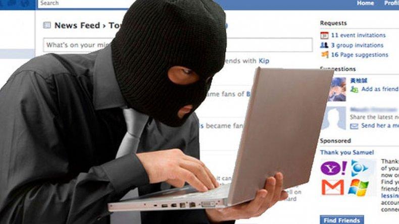 Detenido por ofrecer productos robados en Facebook