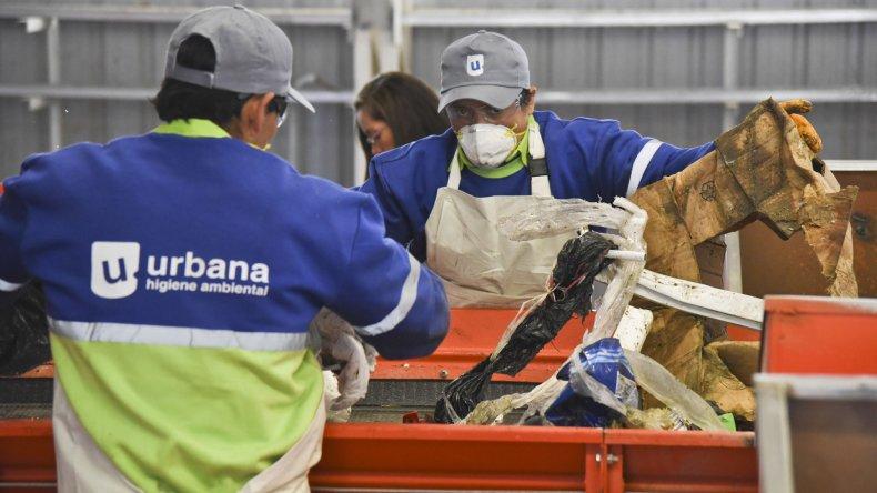 Se busca que estudiantes de Comodoro Rivadavia y Rada Tilly adquieran conciencia ambiental para que el tratamiento de residuos (foto) sea eficaz.