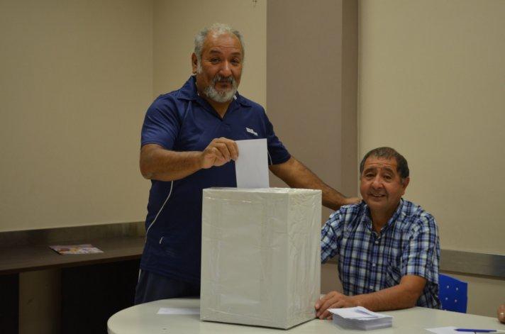 Ricardo El Perro Núñez es el nuevo presidente de la comisión de jubilados de los jerárquicos del petróleo y gas en Chubut.