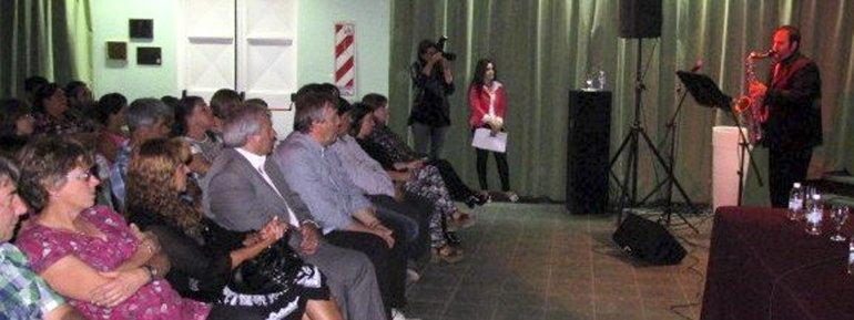 Ante un gran marco de público se inauguró el Espacio Incaa en la localidad de Trevelin.