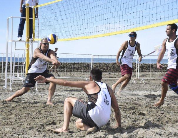 El Circuito Nacional de Beach Voley se hizo presente en Rada Tilly