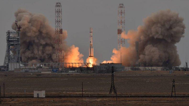 ExoMars 2016 envía un satélite para estudiar los gases de la atmósfera de Marte.