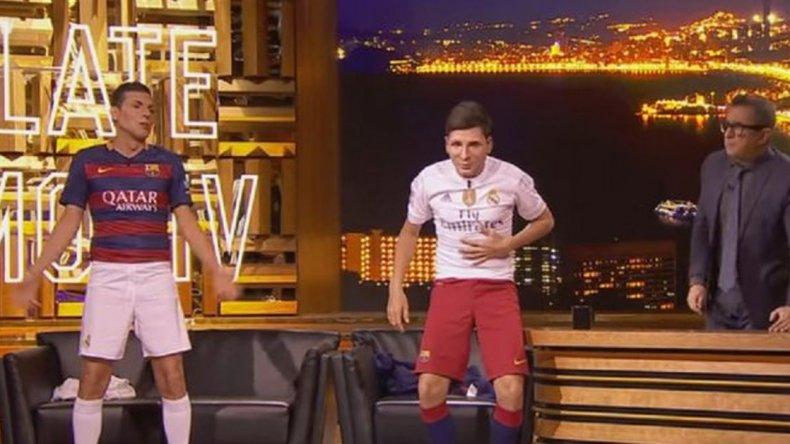 Lo imposible: Messi y CR7 cambiaron camisetas y cantaron una canción
