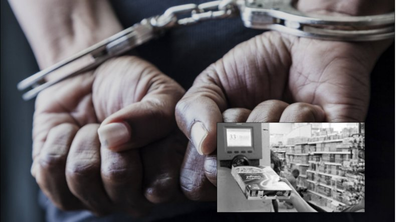 Fue detenido mientras se robaba 2 packs de Coca y 3 cajones de cerveza