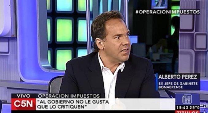 Pérez, sobre la denuncia contra Indalo: Es un Gobierno al que no le gusta que lo critiquen