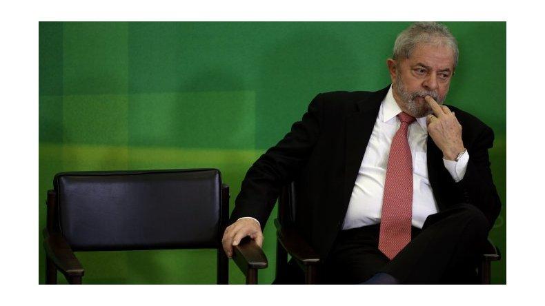 Lula presentó un recurso ante la Justicia para asumir como jefe de Gabinete
