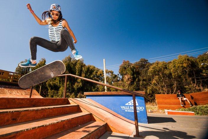 Mujeres skaters se lucirán este sábado en Rada Tilly
