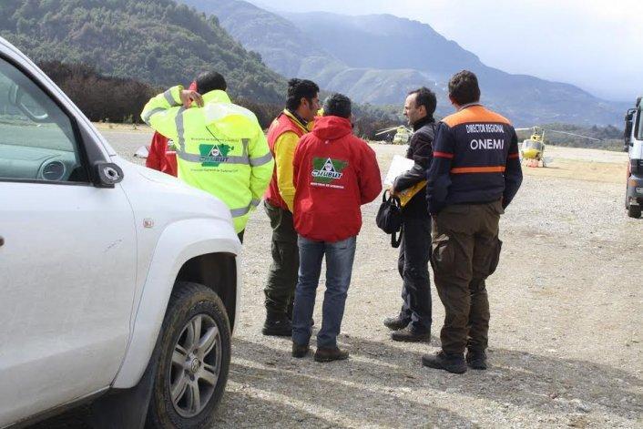 Chubut acordó con autoridades chilenas trabajo conjunto