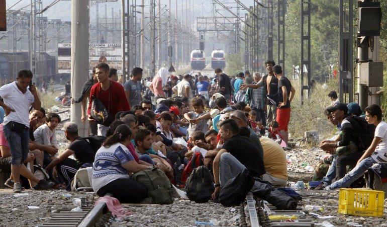 Grecia es el país al que llegan por día cientos de refugiados sirios y afganos que luego emigran al resto de Europa.