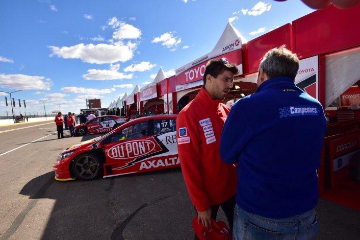Matías Rossi ya está listo para salir a competir en el autódromo de Trelew.