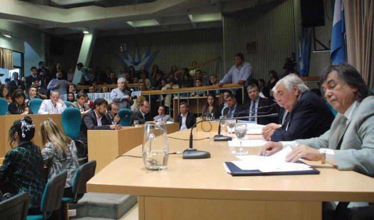 La primera sesión ordinaria de la Cámara de Diputados fue presidida por José Bodlovic