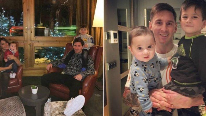 Lionel Messi festeja el Día del Padre en España