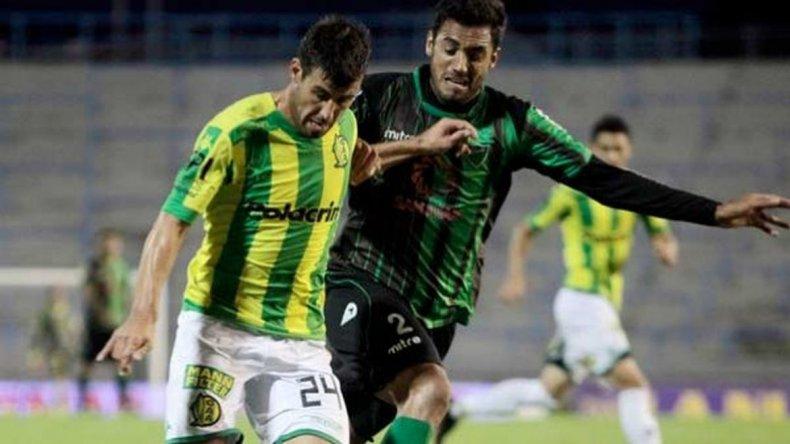 Aldosivi y San Martín igualaron en un vibrante partido