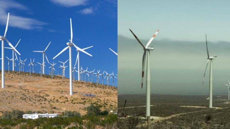 En otros puntos de Chubut la experiencia eólica resultó exitosa