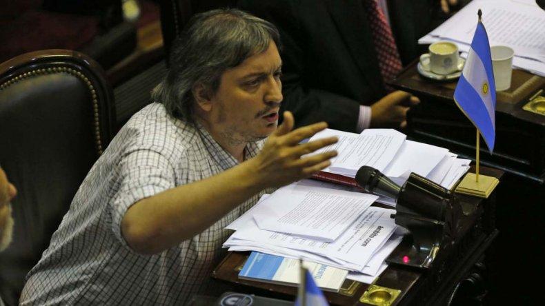 Máximo también opinó sobre las causas judiciales en contra de la ex Presidente.