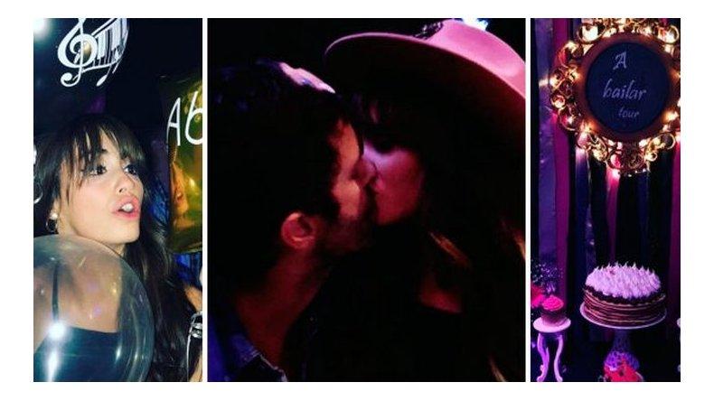 El festejo íntimo de Lali Espósito con Mariano Martínez tras el Luna Park