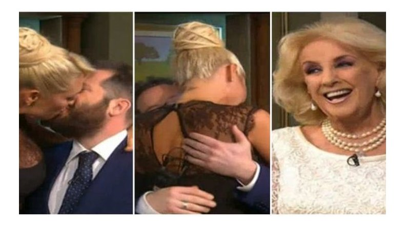 Vicky Xipolitakis y José Ottavis retados por Mirtha: ¡Soltalo, dejalo en paz!