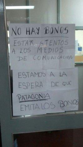 Provincia iniciará acciones legales contra Patagonia para recibir los bonos
