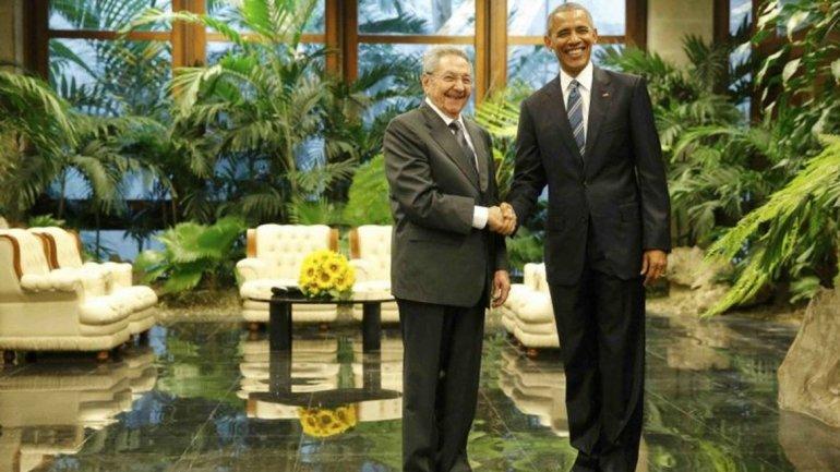 Raúl Castro y Barack Obama ya están reunidos en La Habana