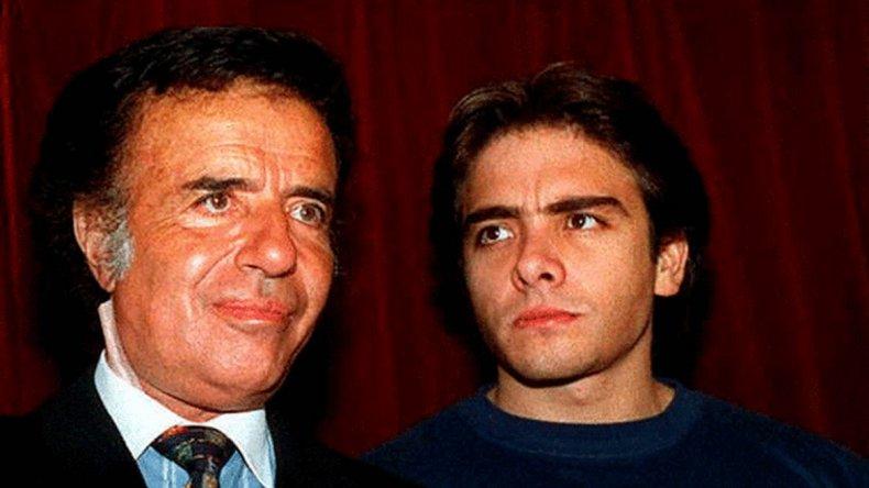 Carlos Menem aseguró  saber quiénes y por qué mataron a su hijo