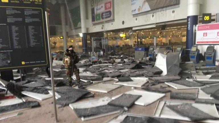Atentado terrorista en Bruselas