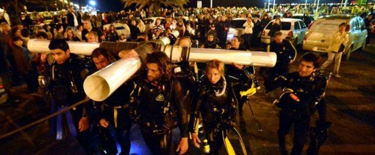 Madryn se prepara para la 13° edición del viacrucis submarino