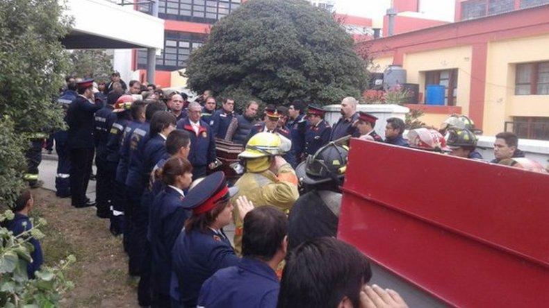 Dolor y gran acompañamiento en el último adiós a Luis Gramajo
