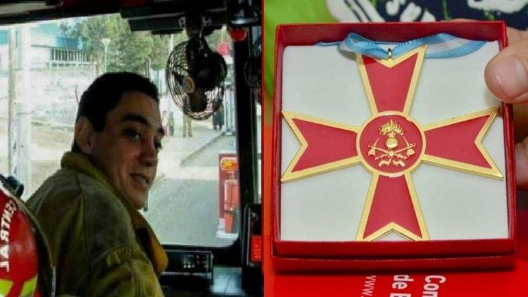Condecorarán a Gramajo con la Cruz Dorada al Caído en Servicio