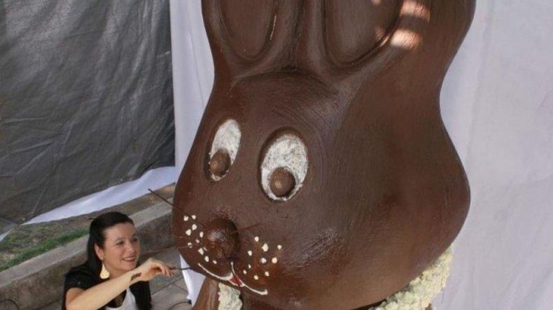 El conejo de Pascuas más grande del mundo será argentino