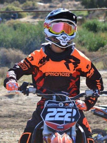 Tomás Brazao arrancó el  MX del Norte con un podio