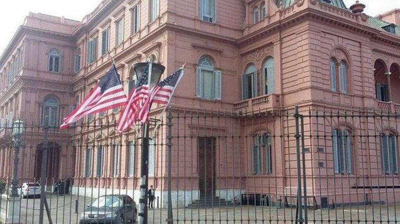 Macri recibe al Presidente de Estados Unidos y luego brindarán una conferencia de prensa