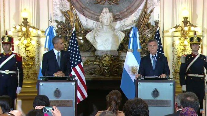 Argentina está recuperando su liderazgo en la región, aseguró Obama