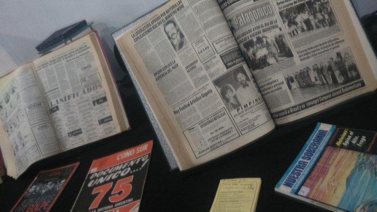 La Biblioteca Municipal pusó a disposición los archivos de diarios y Revistas de la época