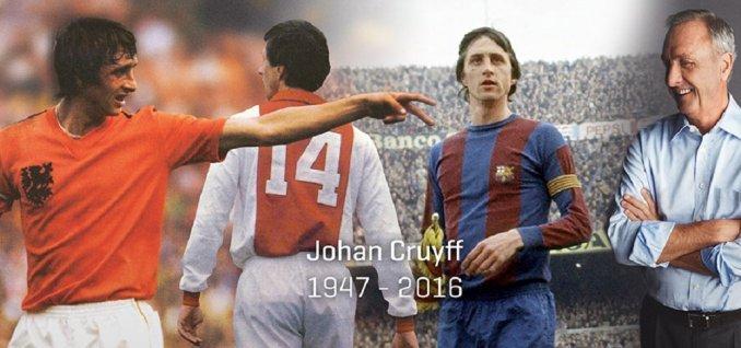 Murió Johan Cruyff, una de las grandes leyendas del fútbol