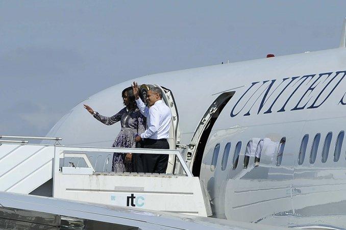 Obama llegó a Bariloche para descansar en el hotel Llao-Llao
