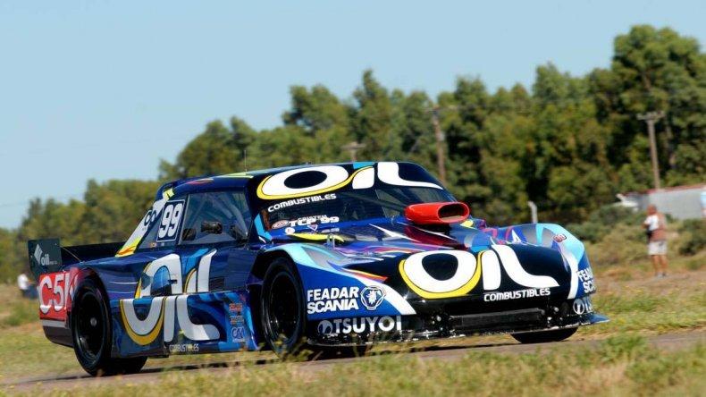 El Torino de Nazareno López que este fin de semana buscará ser protagonista en el autódromo de Toay.