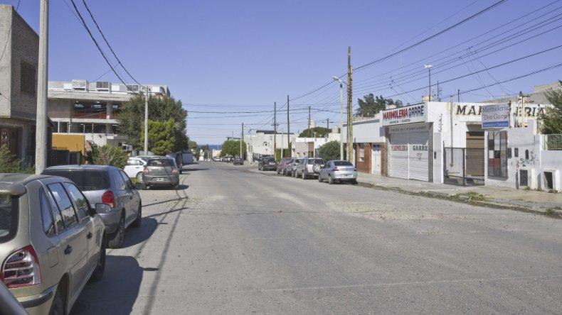 Es esta calle una mujer fue brutalmente atacada por su ex pareja